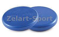 Подушка балансировочная массажная BALANCE CUSHION (PVC, d-33см x 5см, 900гр, цвета в ассортименте)