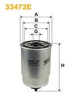 Фильтр топлива IVECO (производитель WIX-Filtron) 33472E