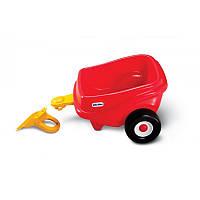 Прицеп для Машинки Каталки Cozy Coupe красный Little Tikes 620720
