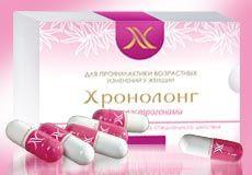 """Витамины для женщин """"Хронолонг""""капс.30- антивозрастной комплекс"""
