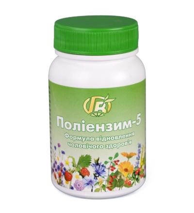 При аденомі, простатиті, зниження потенції Полиэнзим - 5,140 р