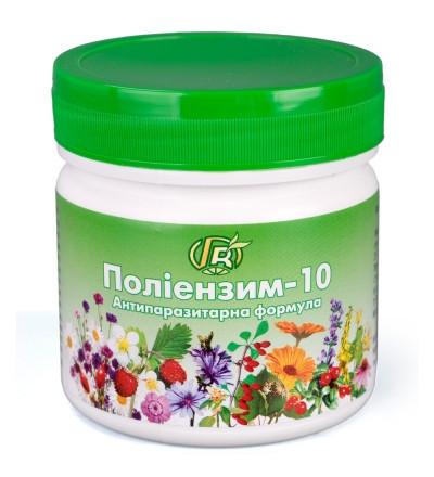 """""""Полиэнзим - 10"""" 280 г - от глистов для взрослых и детей"""