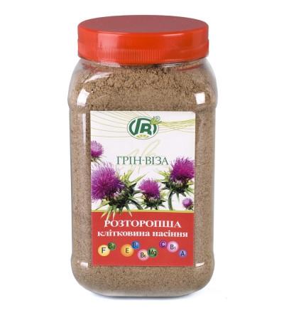 «Клетчатка семян расторопши» 300 г (гепатопротекторная формула) - препарат для печени