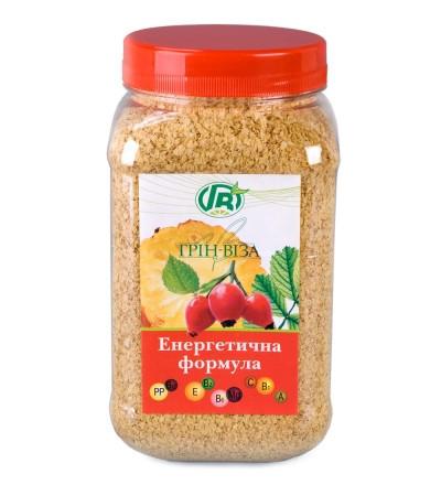 «Зародыши пшеницы с шиповником и ананасом» Энергетическая формула