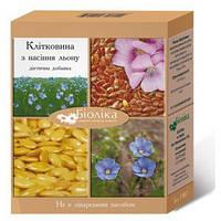 «Клетчатка из семян льна» при  пиелонефрите, цистите, как мягкий диуретик и антисептик