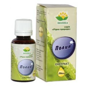 Екстракт полину краплі (екстракт полину) 30 мл-гастрит зі зниженою кислотністю від виразки шлунка