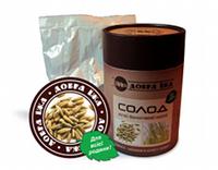 «Солод ржаной» тубус 300г- натуральный продукт оздоровительного действия