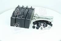 Колодка тормознаядисковые ( комплект на ось) BPW RS-SB 4309T (RIDER) RD 29171PRO