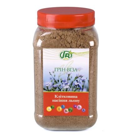 «Клетчатка семян льна» 300 г - (желудочно-кишечная формула)