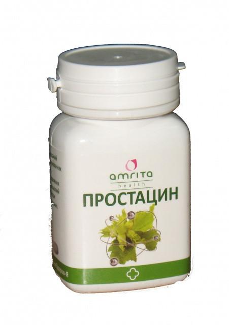 При воспалении простаты  и эректильной дисфункции Простацин таб.60 (ТМ Амрита)
