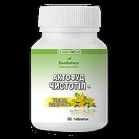 Актофуд «Чистотел — трава здоровья» таб.90 -при псориазе, гнойничковых заболеваниях кожи, мокнущей экземе