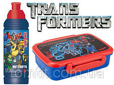 "Набор ""Transformers"". Контейнер для завтрака (ланчбокс) + бутылка"
