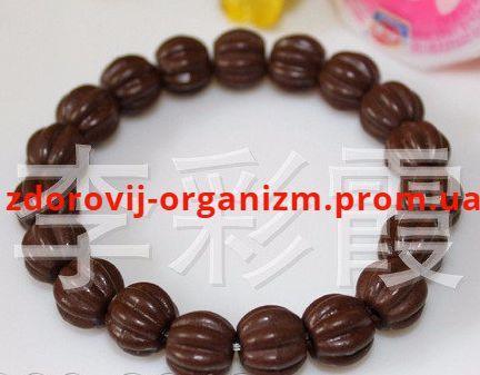 Турмалиновый браслет коричневый Вековой Восток
