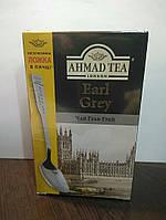 Чай Ахмад Граф Грей (Earl Grey) чёрный с ароматом бергамота 100г
