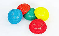 Полусфера массажная балансировочная Balance Kit  (PVC, d-34см, h-7,5см, 1200g, цвета в ассортименте)