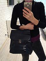 Кожа рюкзак сумка трансформер , сумки трансформеры