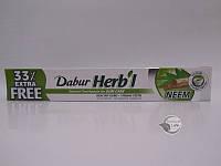 Зубная паста с кальцием без фтораDABUR HERB'L NEEM, (100 г)75+25 г-от воспаление и кровоточивости десен