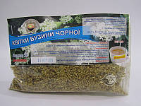 «Бузины черной цветки» 50г- отхаркивающее, мягчительное средство при простуде, гриппе, ангине, бронхите, кашле