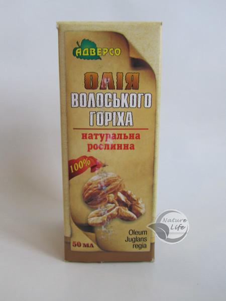 Масло укрепляющее сосуды Грецкого ореха,50 мл- при отеках варикозе для ровного загара сухая кожа увлажнение