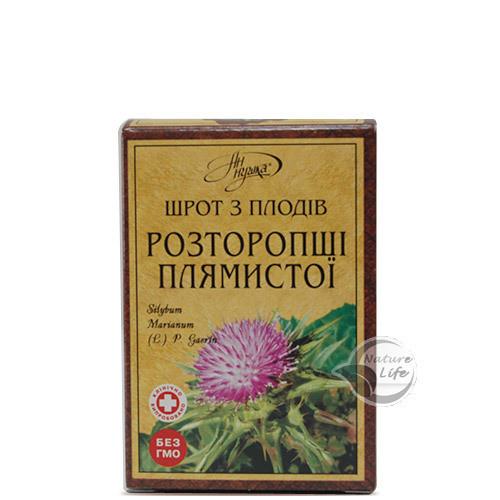 Шрот з плодів розторопші плямистої,100 г - захист печінки