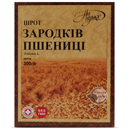 Шрот Зародків пшениці,300 м - для поліпшення травлення та запобігання атеросклерозу