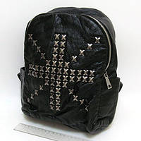 """Рюкзак женский кожаный с заклепками """"Британский крест"""" Josef Otten"""