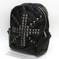 """Рюкзак жіночий шкіряний з заклепками """"Британський хрест"""" Josef Otten"""