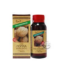 Масло грецкого ореха, 100мл- гипертензия ишемическая болезнь атеросклероз язва желудка холецистит