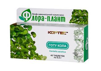 """Для поліпшення мозкового кровопостачання """"Флора-плант """"Готу Кола"""" таб.40"""