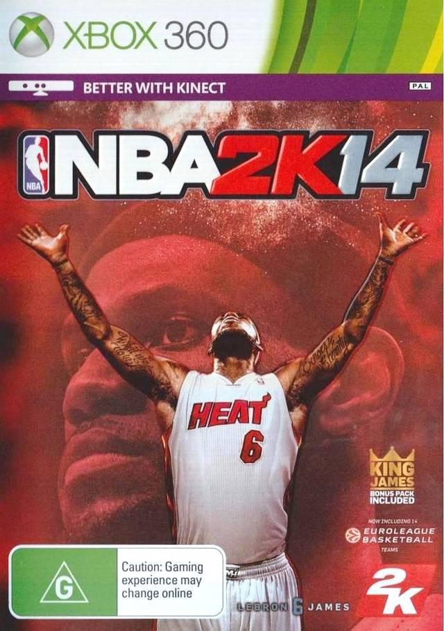 ИГРА XBOX 360 NBA 2K14 РЕГИОН NTSC