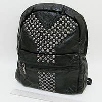 """Рюкзак женский кожаный с заклепками """"Y"""" Josef Otten"""