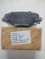 Колодки тормозные передние для Chery Amulet (A11-6GN3501080)