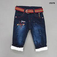 Теплые джинсы для мальчика. 1 год