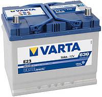 Аккумулятор Varta BLACK DYNAMIC 70 Ah,Е-23 плюс cправа 630 А
