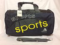 Сумка спорт темно-синяя, фото 1
