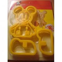 Микки Маус 3D выемка для печенья