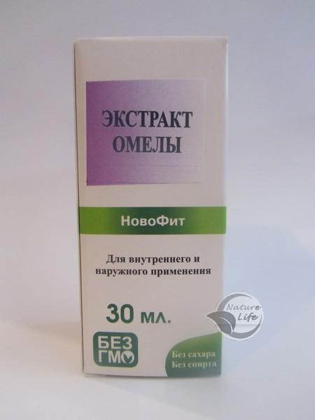 """При гипертонии """"Омелы Экстракт"""" 30 мл- для нормализации давления"""