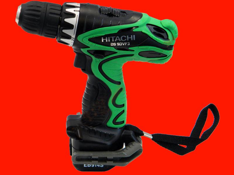Аккумуляторный шуруповёрт на 9,6 Вольт Hitachi DS9DVF3