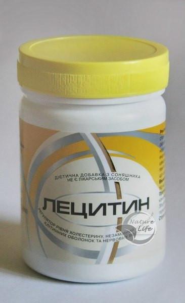 Лецитин, 100 г-для лікування і профілактики захворювань печінки, жовчного міхура, серцево-судинної системи
