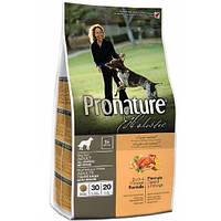 Pronature Holistic Adult Duck&Orange ПРОНАТЮР ХОЛИСТИК С УТКОЙ И АПЕЛЬСИНАМИ сухой холистик корм БЕЗ ЗЛАКОВ для собак , 0.34 кг.