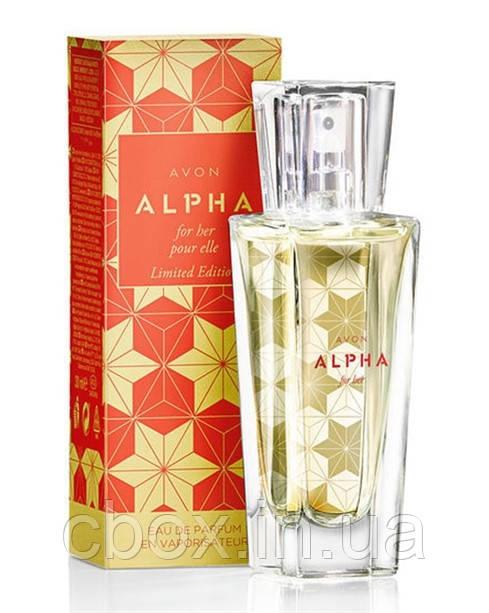 Парфюмерная вода женская Avon Alpha, Альфа Эйвон, 19335, 30 мл