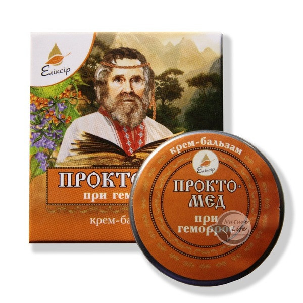 """Крем-бальзам от геморроя"""" Проктомед"""" 10 мл"""