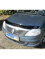 Дефлектор капота (мухобойка) Renault Logan (Рено Логан)