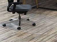 Ковер под кресло защитный прозрачный 122х152см. Толщина 2,0мм