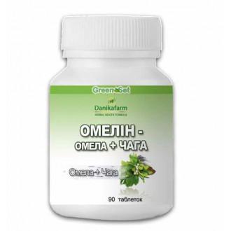 """Протипухлинний збір """"Омелин - Омела і Чага"""" таб.90 - для оптимізації лікування пухлинних процесів"""