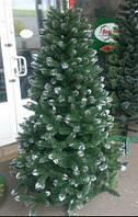 Новогодняя искусственная елка Ель Принцесса (Леска+ПВХ), коричневые кончики 2,3 м (Ивано-Франковск) ММ /02-53
