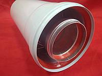 Удлинитель 0,25м (250мм) коаксиальный 60/100 турбо усиленный