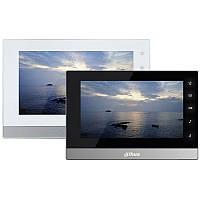 """2-проводный IP видеодомофон Dahua DH-VTH1550CHW-2, экран 7"""""""