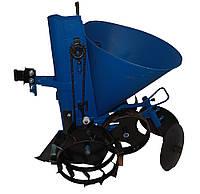 Картофелесажалка ленточная  с транспортными колесами АПК-3