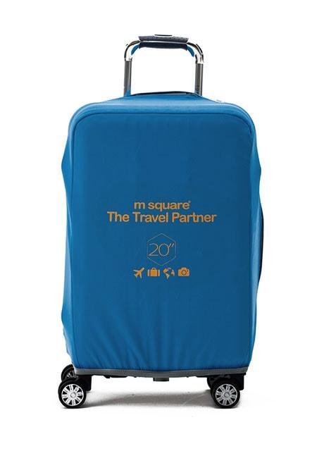 Чехол на чемодан S синий